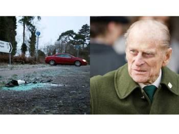Amaran itu diberikan dua hari selepas Putera Philip terlibat dalam nahas kereta.