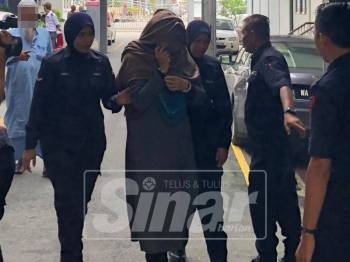 Mahkamah memerintahkan wanita berusia 31 tahun itu menjalani pemeriksaan tersebut di Hospital Permai Johor Bharu, Johor.