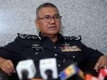Ketua Polis Negara Tan Sri Mohamad Fuzi Harun - Foto Bernama