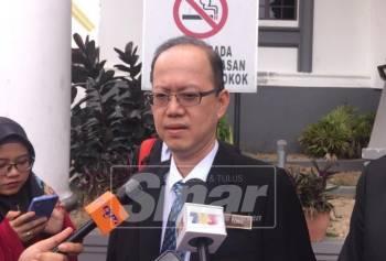 johor 2  Pengarah Perkeso Johor, Tong Sing Chuang ketika ditemui pemberita, di sini, hari ini.