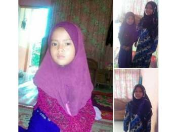 Nur Fatihah Najwa dan Siti Nur Insyirah ditemui orang awam.
