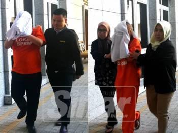 Mereka dibawa ke Mahkamah Majistret Putrajaya.
