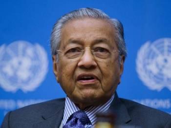 Perdana Menteri Tun Dr Mahathir Mohamad mengadakan sidang media selepas menyampaikan ucaptama pada Persidangan Tahunan ke-10 dan Mesyuarat Agung Pertubuhan Pihak Berkuasa Pencegahan Rasuah Antarabangsa (IAACA) bertemakan '15 Tahun Konvensyen Pertubuhan Bangsa Bersatu Memerangi Rasuah, Pencapaian dan Prospek' di Pusat Antarabangsa Vienna (VIC) pada Selasa. - Foto Bernama