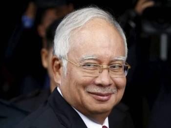 Bekas Perdana Menteri, Datuk Seri Najib Tun Razak popular dengan troll