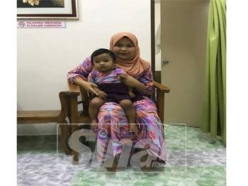 Nor Hidayah bersama Nur Irdina.