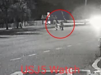Polis minta saksi kejadian kemalangan langgar lari di Persiaran Tujuan tampil memberi maklumat.