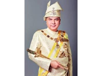 Duli Yang Maha Mulia Paduka Seri Sultan Perak, Sultan Nazrin Muizzuddin Shah ibni Almarhum Sultan Azlan Muhibbuddin Shah Al-Maghfur-Lah dipilih sebagai Timbalan Yang di-Pertuan Agong bagi tempoh lima tahun berkuat kuasa 31 Jan 2019. - Foto Bernama