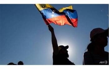 Venezuela berhadapan krisis politikyang semakin meruncing. - Foto AFP