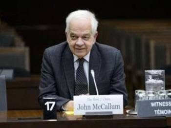 John McCallum.- Foto Canadian Press