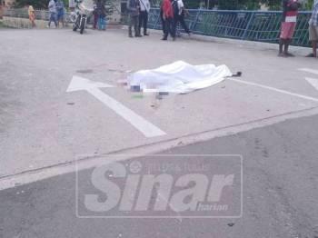 Mangsa maut selepas dilanggar lari di persimpangan Taman Rose Merah, Pekan Nilai.