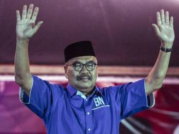 Calon BN, Ramli Mohd Nor pertahan kerusi Parlimen Cameron Highlands dengan jumlah undi 12,038.