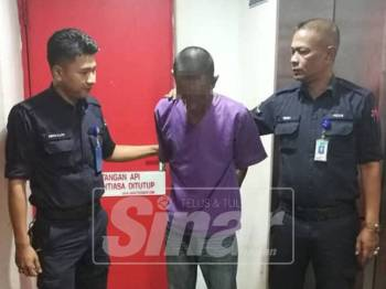 Mohd Abdillah Mat Nasin, 34, mengaku salah meliwat rakan sebiliknya semasa menjalani hukuman penjara di Dungun.