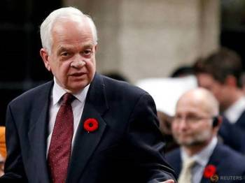 McCallum dituduh memalukan kerajaan Trudeau dengan 'menyebelahi' China berhubung kes ekstradisi eksekutif kanan Huawei, Meng Wanzhou. - Foto Reuters