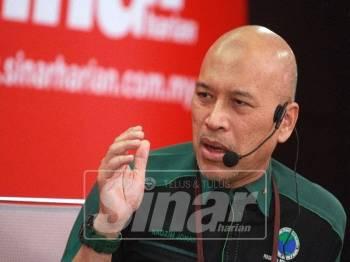 Ketua Aktivis PPIM, Nadzim Johan