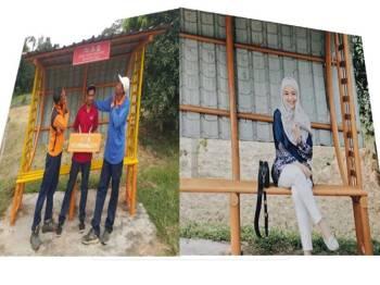 Instagram Mira Filzah & Facebook Tourism Melaka