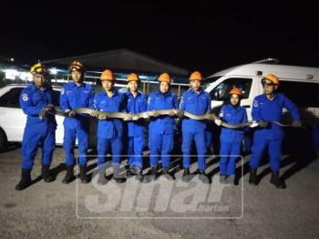 Antara ular yang berjaya ditangkap oleh APM Kubang Pasu dalam tempoh 46 hari.