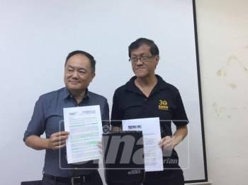 Sidang media berkaitan salah laku pilihan raya itu diadakan di ibu pejabat Bersih 2.0, di sini, hari ini.