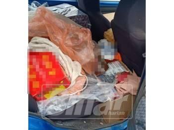Sejumlah rokok dan arak seludup berjaya dirampas PPMW2 Pengerang menerusi penahanan seorang lelaki, Isnin lalu.  dup RM192,699 dirampas