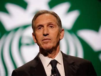 Bekas CEO Starbucks, Howard Schultz.