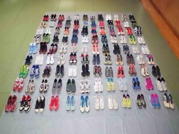 Endo mencuri lebih 70 pasang kasut bernilai RM10,600.