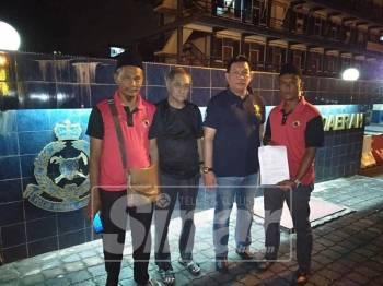 Abdul Rahim membuat laporan polis berhubung penghinaan kepada Agong.