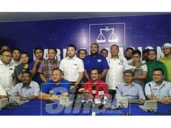 Sidang media Pemuda Umno-Pas