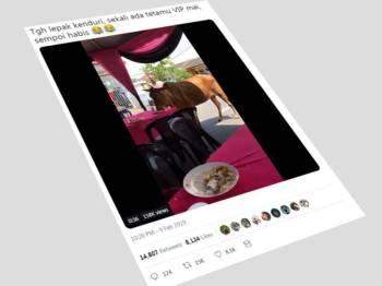 Paparan Twitter Shahrul Azwan tular di media sosial.