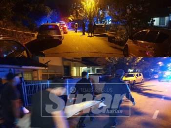 Polis menembak mati dua warga asing dipercayai dalang kes penculikan.