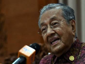 Tun Dr. Mahathir Mohamad. - Foto Bernama