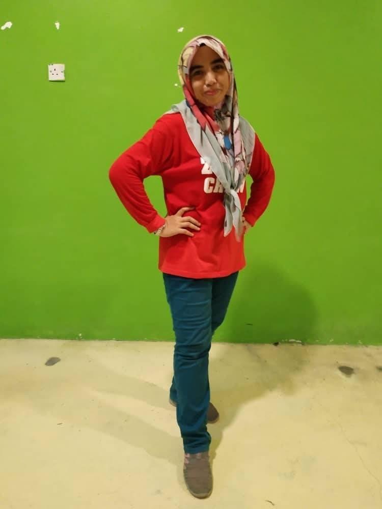 TERKINI. Afza Nor Liyana kelihatan langsing selepas aktif berzumba di samping menjaga pemakanannya.