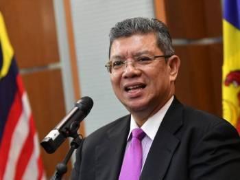 Menteri Luar, Datuk Saifuddin Abdullah