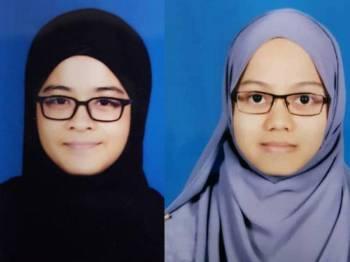 Amira dan Wan Nur Syazana