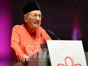 Mahathir. - Foto Sinar Harian/SHARIFUDDIN ABDUL RAHIM