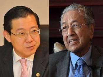 Guan Eng dan Tun Dr Mahathir