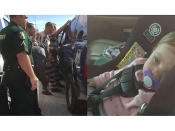 Dua banduan menghulurkan 'kepakaran' mereka ketika menyelamatkan seorang bayi yang terperangkap di dalam kereta.