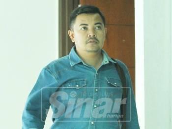 Mohd Hafizan antara saksi Inkues Kematian Muhammad Adib hadir ke Kompleks Mahkamah Shah Alam. Foto Sinar Harian/Rosli Talib