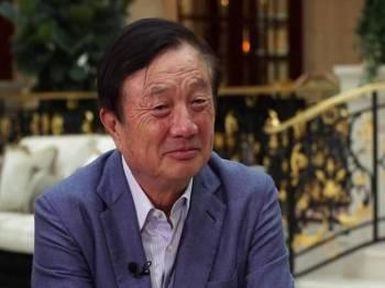 Ren Zhengfei tepis tekanan dari AS terhadap Huawei. - Foto BBC