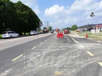 Projek naik taraf jalan dari Taman Emas Merah ke persimpangan Batu 24 akan diutamakan.