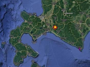 Gempa bumi itu  berlaku pada kedalaman 41 kilometer dan berpusat kira-kira 55 kilometer di tenggara bandar Sapporo.