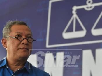 Timbalan Pengerusi BN Selangor, Datuk Mat Nadzari Ahmad Dahlan. Foto Sinar Harian: SHARIFUDIN ABDUL RAHIM