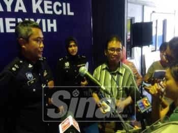 Mohd Sabri mengesahkan menerima laporan kes simbah cat.