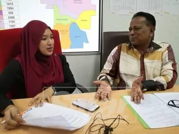 Dr Streram ketika ditemubual dalam Sinar Live di pejabatnya, semalam. - Foto Sinar Harian/NORAFIDAH ASSAN