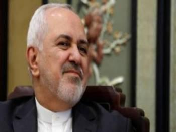 Mohammad Javad Zarif dilapor mengumumkan peletakan jawatannya sebagai menteri luar Iran. - Foto AFP