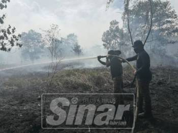 40 hektar hutan kawasan tanah gambut belum dibangunkan di Pusat Perindustrian Gebeng telah dilaporkan terbakar sejak petang semalam dan kini masih dalam usaha memadamkan kebakaran tersebut