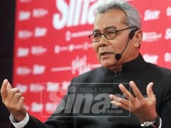 Mohd Redzuan ketika bercakap dalam program Bicara Minda anjuran Sinar Harian, di sini,  hari ini. - Foto Sinar Harian/ROSLI TALIB