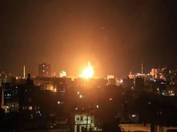Serangan terbaru Israel menyasarkan beberapa kedudukan Hamas di Semenanjung Gaza