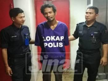 Tertuduh, Mohd Khairul Hafiz Kamarudin, mengaku salah mengugut mahu mencederakan isterinya menggunakan pisau di Mahkamah Majistret Kuala Terengganu hari ini.