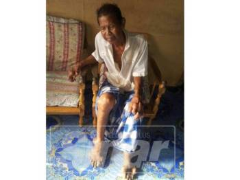 Orang ramai boleh membantu Osman bagi meringankan bebannya yang kini tidak mampu bekerja.