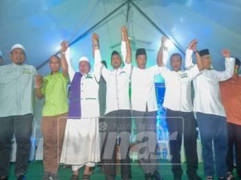 Tuan Ibrahim ditemui ketika ceramah Perdana anjuran UMNO dan Pas, di sini, malam tadi. - Foto Sinar Harian SHARIFUDIN ABDUL RAHIM