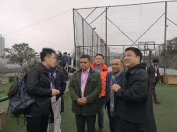 Saifuddin mengadakan lawatan kerja ke Shanghai dan Huangzhou pada 23 hingga 26 Februari lalu.